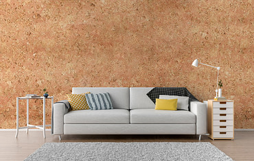 Wall Cork ATENA RED