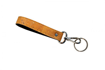 Carabiner with cork strap